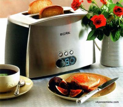 Рецепты для тостера: готовим запеканку из тостов