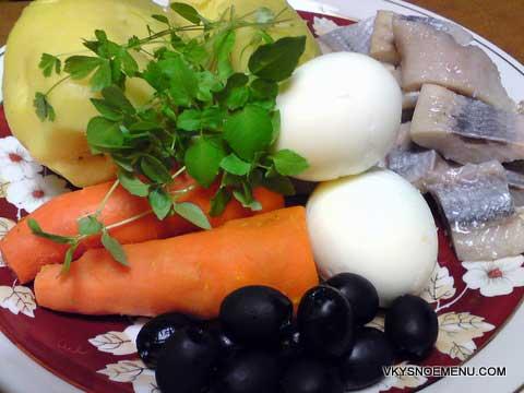 салат рыбка немо рецепт