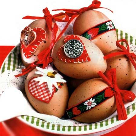 пасхальные яйца