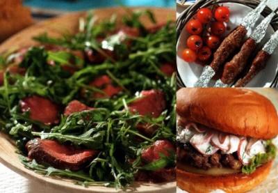 Готовим блюда из говядины для пикника.
