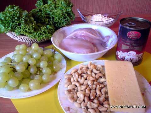 рецепт вебмастера, салат Тиффани