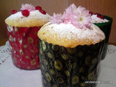 Как приготовить быстрый пасхальный кекс