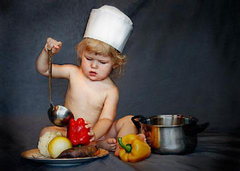 приучить малыша к супу