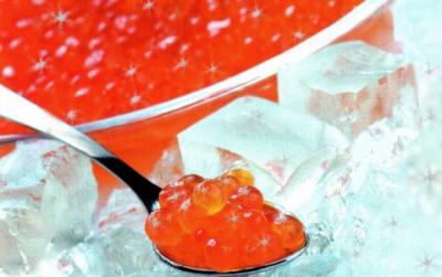 Блюда из красной икры к новому году