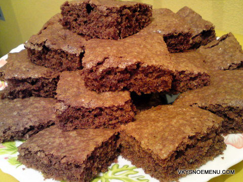 шоколадные коржики