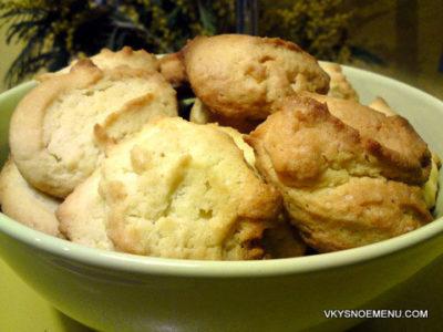 Как приготовить печенье на майонезе?