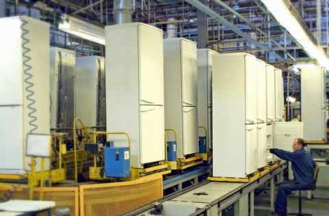 завод холодильников