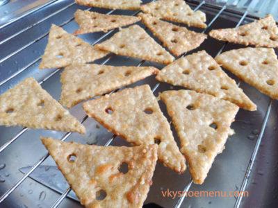 Базовый рецепт сырного крекера