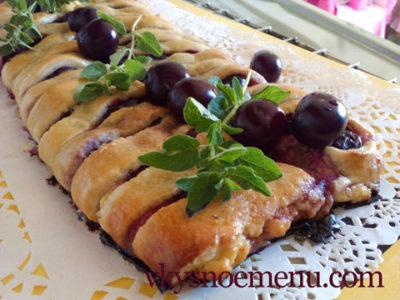 Как приготовить вкусный вишневый пирог