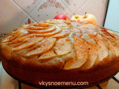 Как приготовить вкусный яблочный пирог